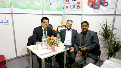 ALLPRO participated in 2013 MEDICA exhibition