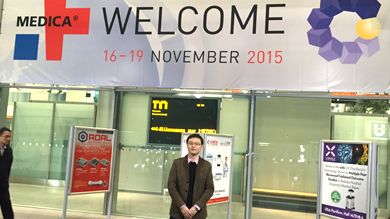 ALLPRO participated in 2015 MEDICA exhibition in Düsseldorf / Germany