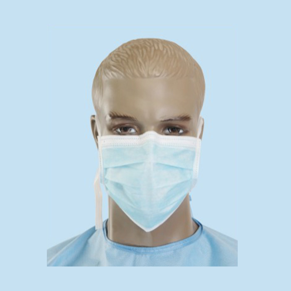 FACE MASK WITH TIE
